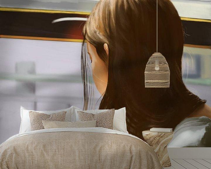 Sfeerimpressie behang: Quarantaine van Kim Verhoef