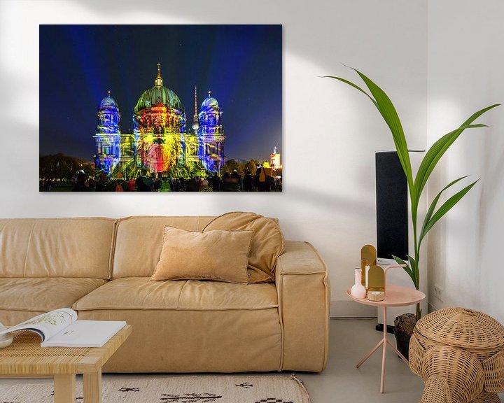 Impression: La cathédrale de Berlin en illumination spéciale sur Frank Herrmann