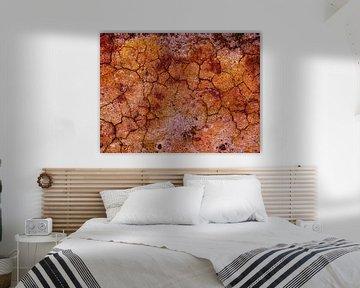 Erdgeschoss (Unfruchtbarer Boden mit Rissen) von Caroline Lichthart