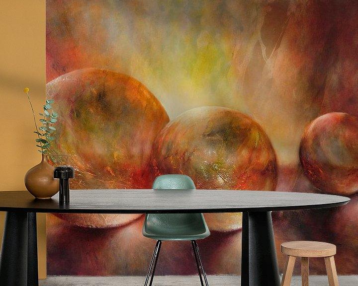Sfeerimpressie behang: Lilla lys van Annette Schmucker