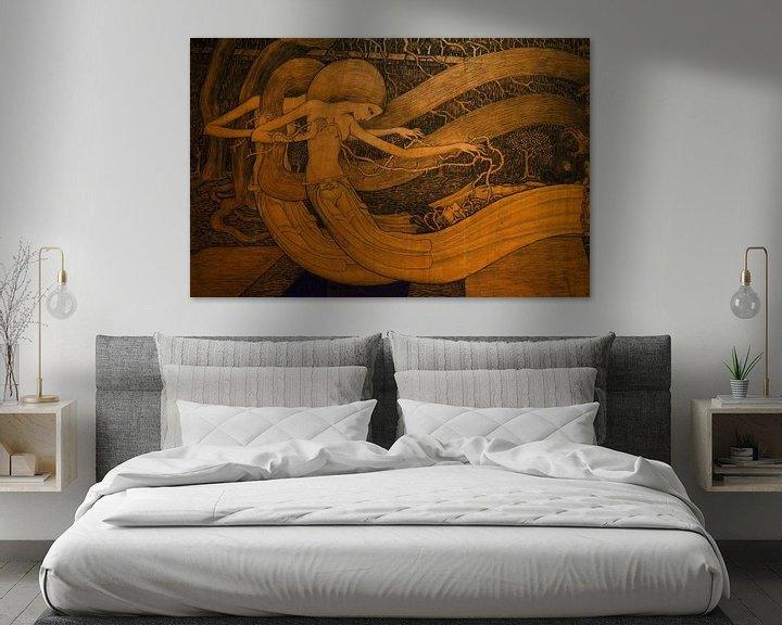 Beispiel: O Grab, Jan Toorop