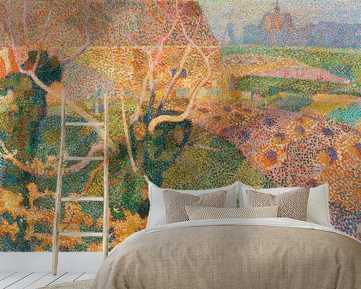 Beispiel fototapete: Novembersonne, Jan Toorop