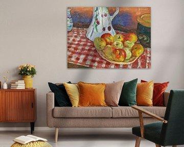 Rote und gelbe Äpfel - Pierre Bonnard 1920