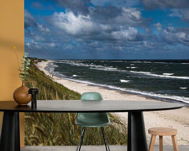 Beispiel fototapete: Ostseestrand, Oostzee-strand von Karin Luttmer