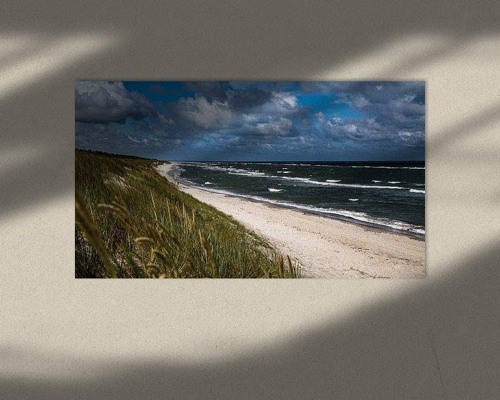 Beispiel: Ostseestrand, Oostzee-strand von Karin Luttmer