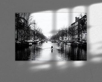 Amsterdamse grachten. van Friso Kooijman