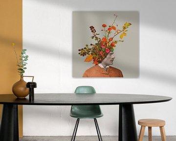 Chapeau - Fleurs et mûres (M) sur toon joosen