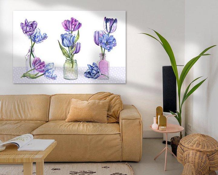 Beispiel: Tulpen-Stilleben von Geertje Burgers