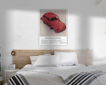VW RECLAME 70S van Jaap Ros