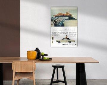Chevrolet Caprice reclame 60s van Jaap Ros