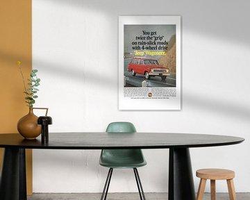 Jeep Wagoneer reclame 60s