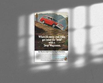Jeep Wagoneer reclame 60s van Jaap Ros
