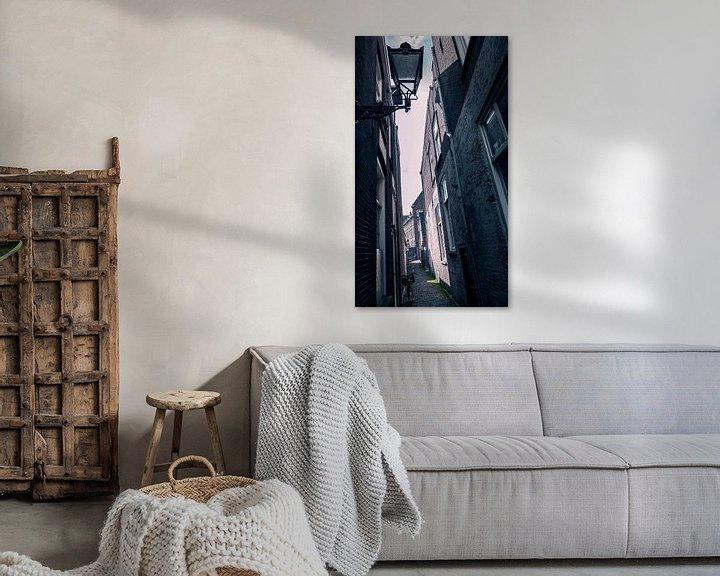 Sfeerimpressie: Palmstraat, Den Bosch van Jacq Christiaan