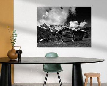 Blick zur Oberen Wettersteinspitze von Andreas Müller
