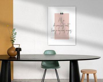 Poster 'Lost' in allen möglichen Farben! von Design by Tessa