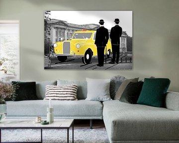 London taxi von Lida Bruinen