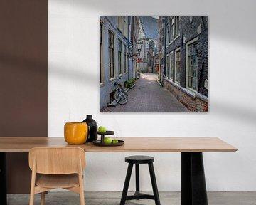 Enge kerksteeg van Foto Amsterdam / Peter Bartelings