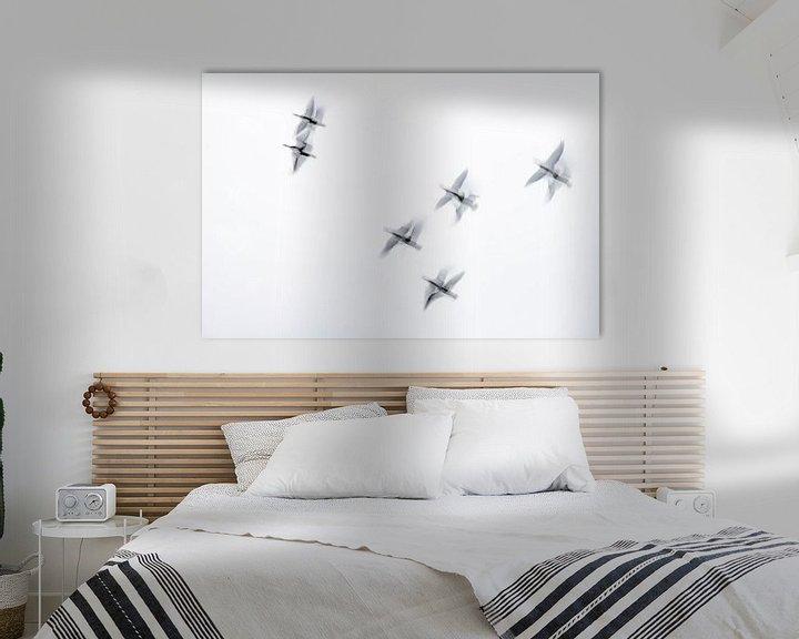 Sfeerimpressie: zie ze vliegen van Petra Slingenberg