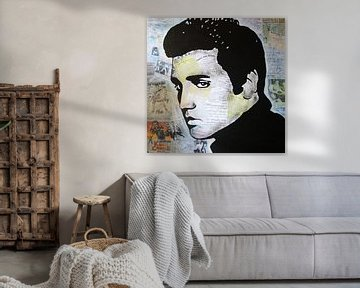 "Elvis Presley ""König Kreol"" von Kathleen Artist Fine Art"