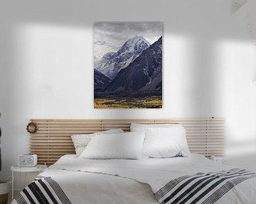 Hookervallei & Mount Cook van Keith Wilson Photography