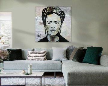 """Frida """"Presse"""" von Kathleen Artist von Kathleen Artist Fine Art"""