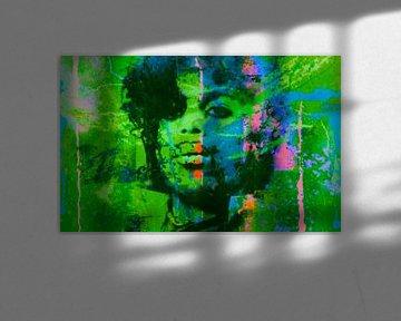 Motiv Prince - Summer Green -  Splash Pop Art von Felix von Altersheim