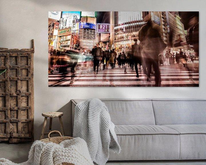 Sfeerimpressie: Shibuya Crossing van Edwin Benschop
