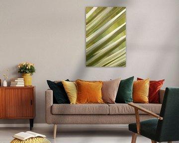 Abstracte bladeren van Isa Dolk