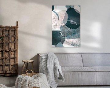 Abstrakte Blätter von Hendrikje van Dijk