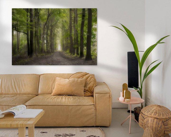 Beispiel: Die grüne Allee in Lochem von Jos Erkamp