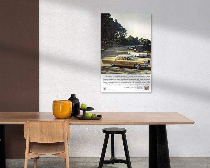 Beispiel: Cadillac-Werbung 60er Jahre von Jaap Ros