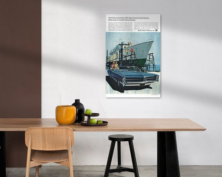 Beispiel: Pontiac-Werbung 60er Jahre von Jaap Ros