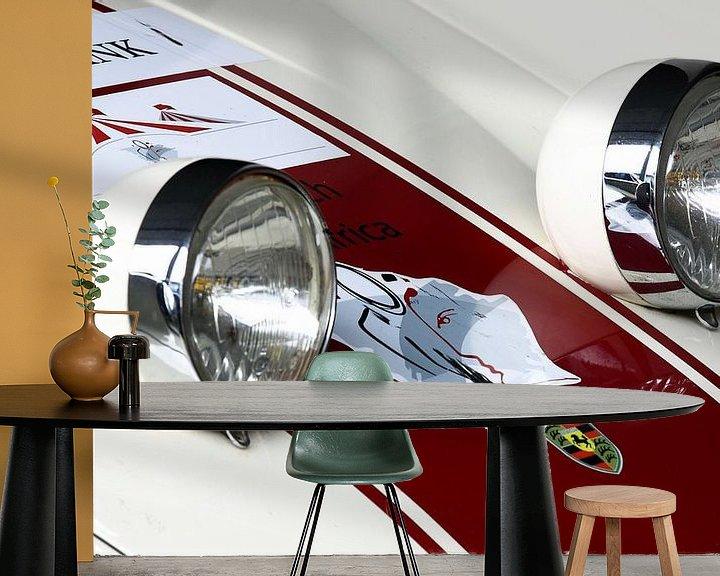 Beispiel fototapete: Retro Porsche von MSP Canvas