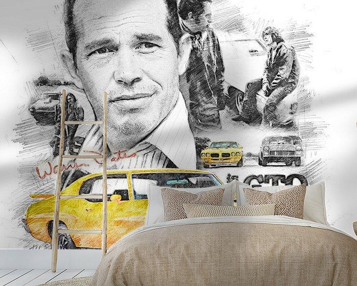 Beispiel fototapete: Warren Oats as GTO von Theodor Decker