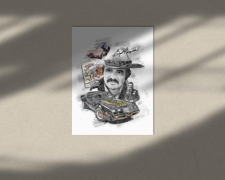Beispiel: Burt Reynolds von Theodor Decker