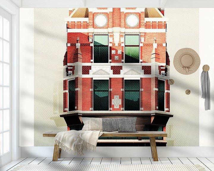 Beispiel fototapete: Choorstraat 2 von Gilmar Pattipeilohy