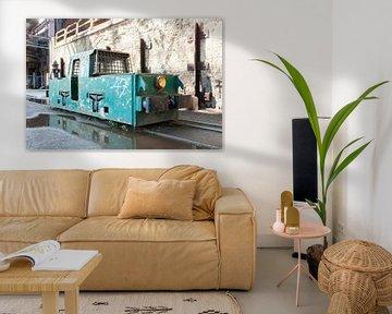 Alter grüner Zug von Andrew van der Beek
