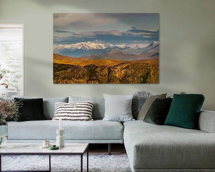 Sfeerimpressie: Noorse bergen van Patrick van Oostrom