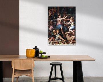 Allegorie der Gerechtigkeit, Giorgio Vasari, 1543 von Atelier Liesjes