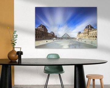 Louvre long exposure van Dennis van de Water