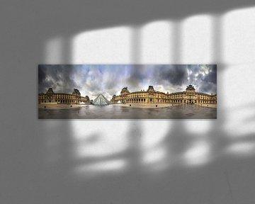 Louvre 360 Panorama von Dennis van de Water
