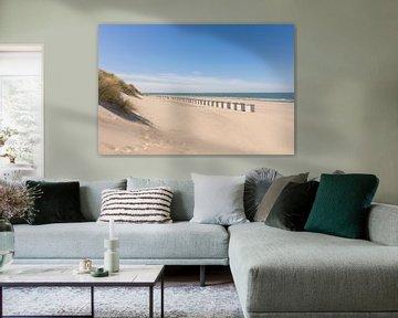 Het Strand van Burgh-Haamstede van Charlene van Koesveld