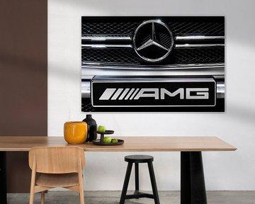 Mercedes Benz G63 AMG-Logo von Dennis van de Water