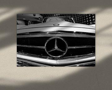 Logo Mercedes Benz W113 280 SL sur Dennis van de Water