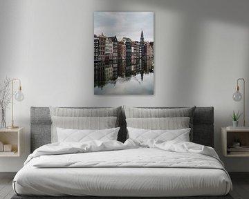 Damrak Amsterdam van Lorena Cirstea