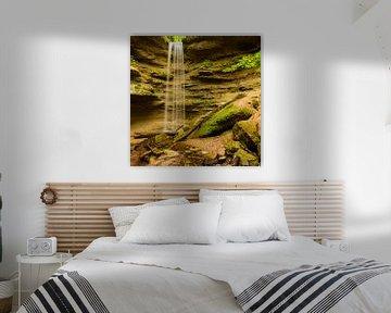 Delicate waterval van Denis Feiner