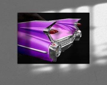 1959 Cadillac Serie 62 in pink von aRi F. Huber