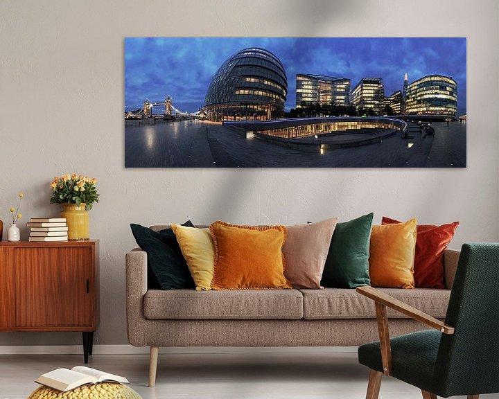 Impression: Le ciel de Londres sur Frank Herrmann