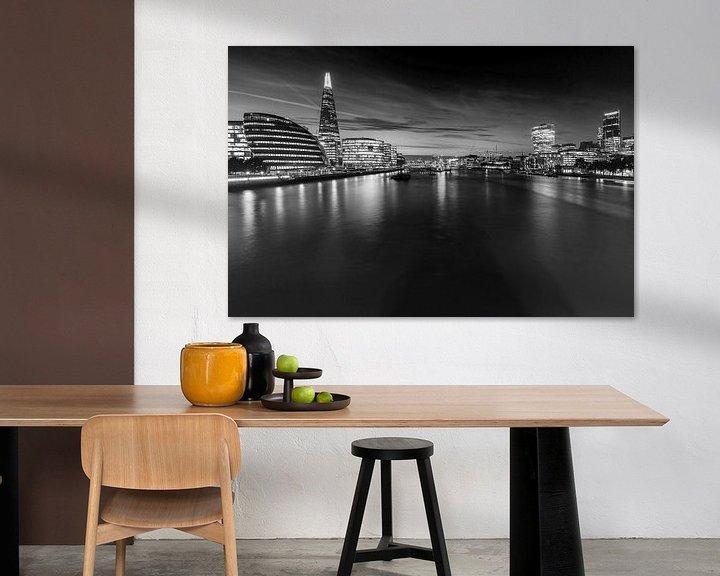 Sfeerimpressie: Londense skyline van Frank Herrmann