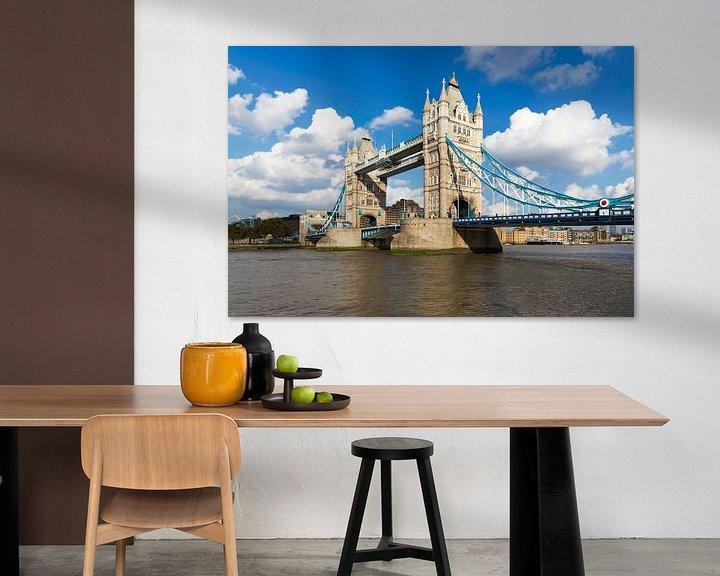 Sfeerimpressie: London Tower Bridge van Frank Herrmann